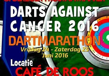Twee dartmarathons in 2016!