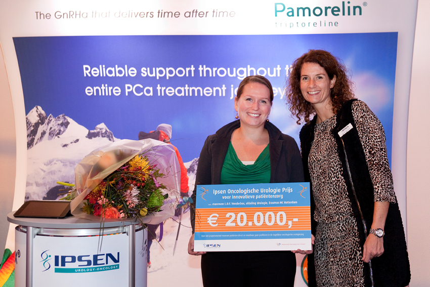 Ipsen oncologische urologie prijs voor te ontwikkelen PRIAS-app