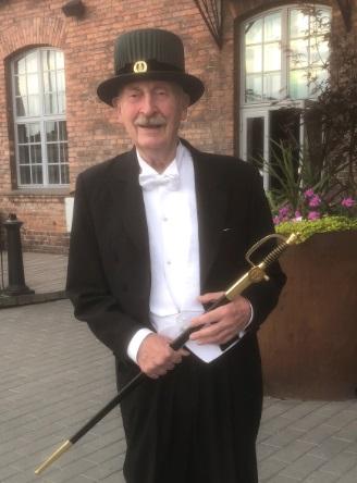 Eredoctoraat Prof. Fritz Schröder, Universiteit van Tampere, Finland